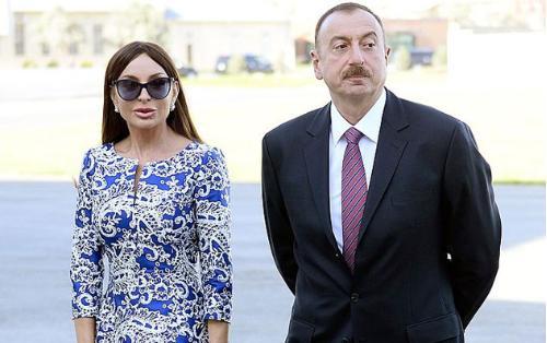 Prezident və xanımı Balaxanıda olublar