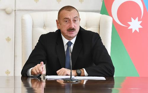 "President: ""Azerbaijan must certainly turn into a center in the field of laying communication lines, the Internet and fiberoptic communications"""