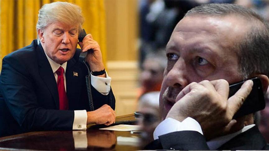 Trampla Ərdoğan arasında telefon danışığı baş tutub.