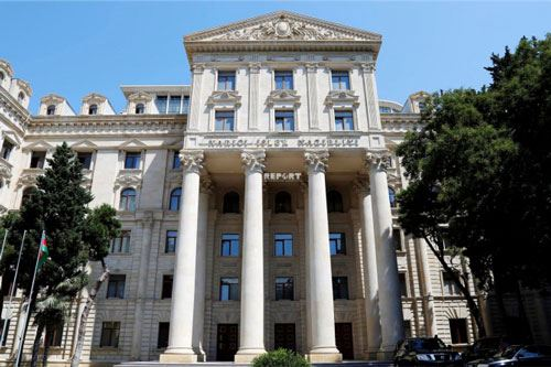 Baku says OSCE MG co-chairs' latest statement is 'symptomatic' in nature