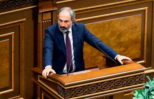 Nikol Pashinyan Elected Prime Minister of Armenia