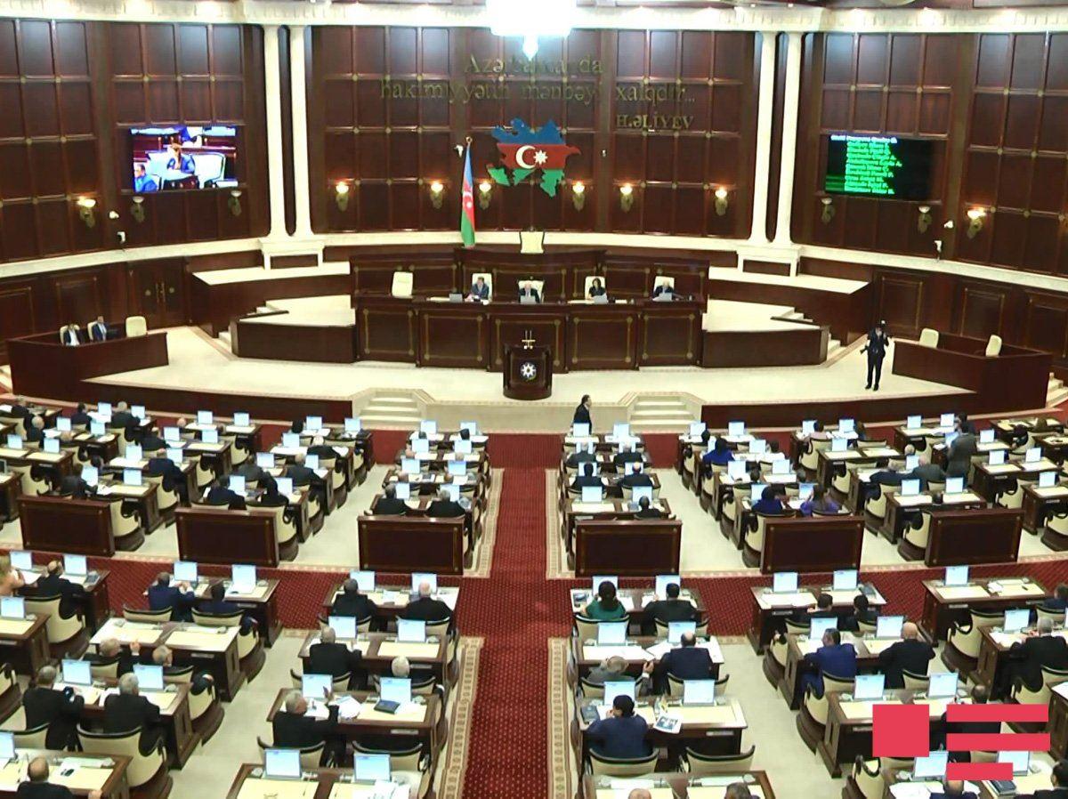 Milli Məclisin plenar iclasının vaxtı dəyişdirildi