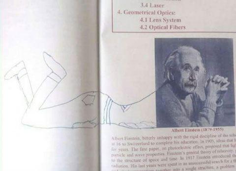 17 шедевров в школьных учебниках, созданных заскучавшими студентами