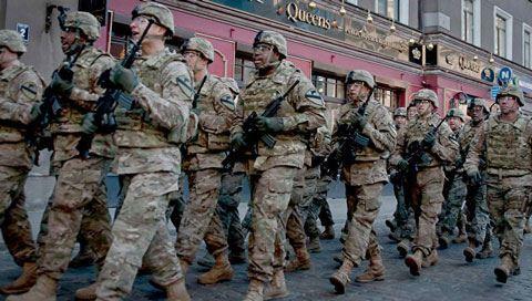 Amerikan askerleri Irak'ta