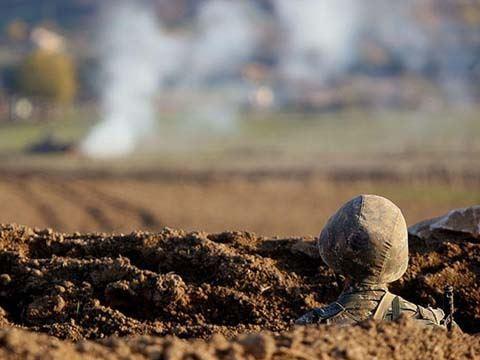 Ermənistan Silahlı Qüvvələrinin növbəti təxribatının qarşısı alınıb