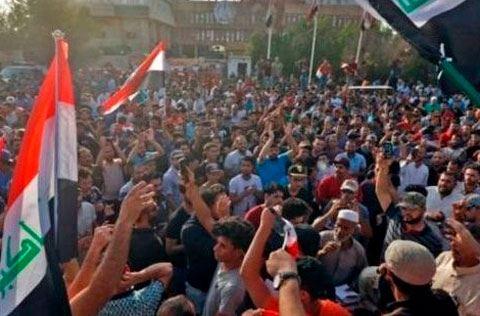 İraqda etiraz aksiyalarında 4 nəfər ölüb