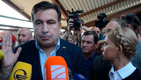 Saakashvili says he curses himself for Georgia's visa-free regime with Europe