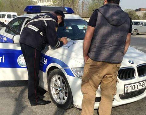 Yol polisinin saxladığı sərxoş sürücülərin sayı AÇIQLANDI