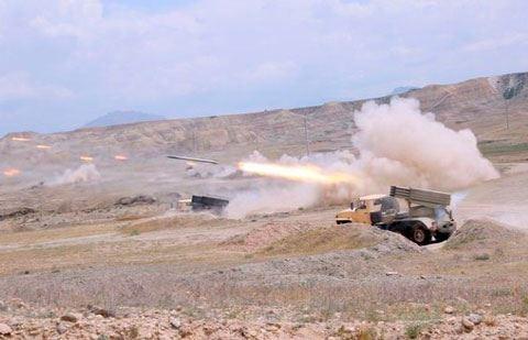 Düşmən Goranboy rayonunu artilleriya atəşinə tutur – RƏSMİ MƏLUMAT