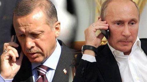 Ərdoğan Putinə zəng vurdu