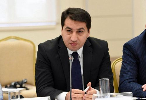 Hikmet Hajiyev: Armenian side makes absurd statements