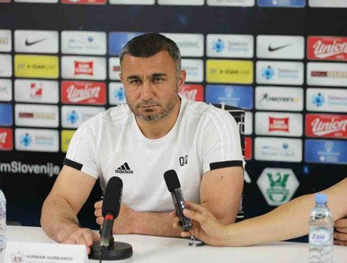 """Qurban Qurbanov: """"Futbolçuları yox, əsgərlərimi təbrik edirəm"""""""