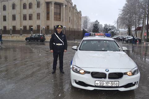 DYP-dən sürücülərə hava şəraiti ilə bağlı MÜRACİƏT