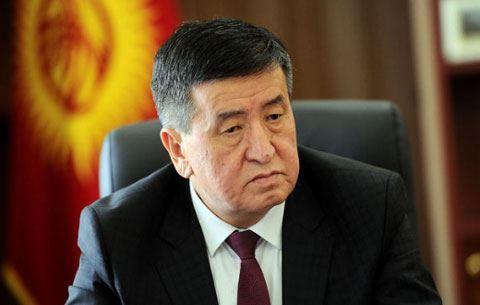 Qırğızıstan prezidenti  -