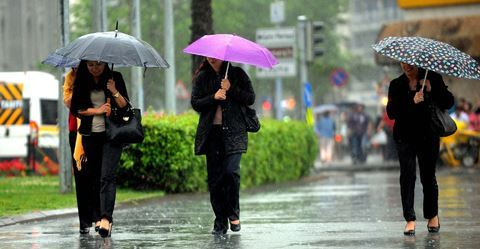 Sabah Bakıya yağış yağacaq - HAVA