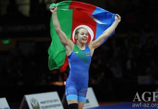 Mariya Stadnik ikinci dəfə dünya çempionu oldu