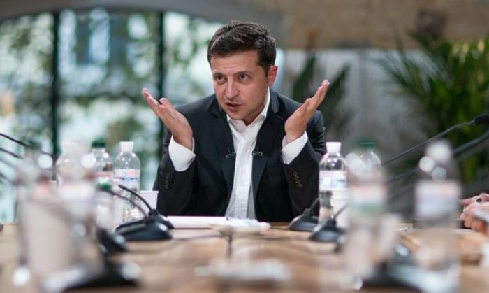 """Zelenski: """"Mən Rusiya telekanalına müsahibə verməmişəm"""""""