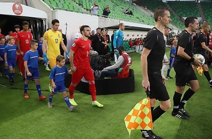Macarıstan - Azərbaycan oyununun baş hakimi səhvini etiraf edib