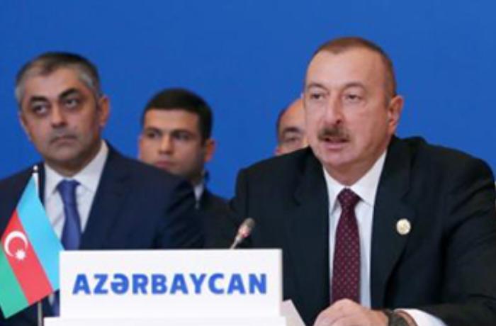 """Prezident: """"Məscidləri dağıdan Ermənistan müsəlman ölkələri ilə dost ola bilməz"""""""