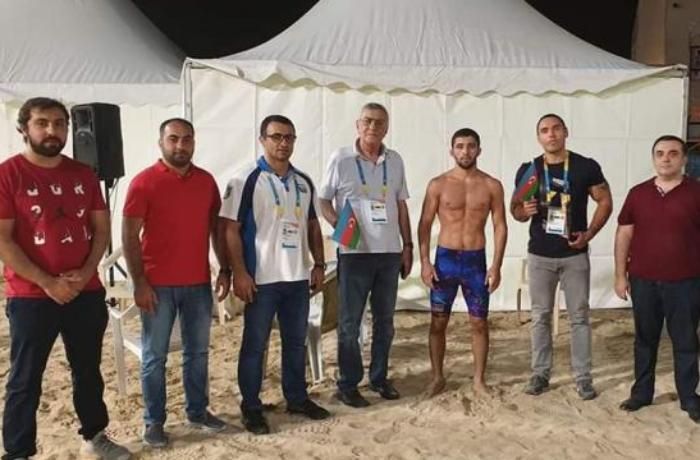 Azərbaycan yığması Dünya Çimərlik Oyunlarında daha bir medal qazanıb