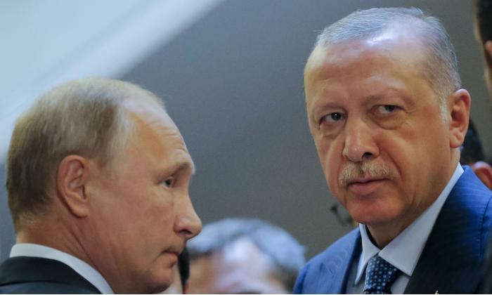 Путин и Эрдоган обсудят ситуацию в Сирии