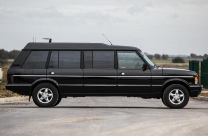 """Bruney sultanının """"Range Rover"""" limuzini hərracda satılacaq"""