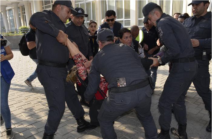 """BŞBPİ-nin İdarə rəisi aksiya barədə: """"Saxlanılanlar var"""""""