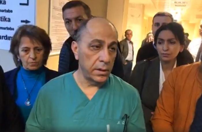 """""""Heç kəs normal pnevmoniyadan yolda getdiyi yerdə yıxılıb ölmür"""" - HƏKİMDƏN ..."""