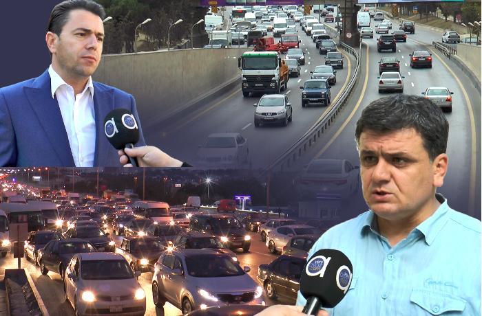 """""""Yeni yol qovşağının tikilməsi üçün Bakı-Sumqayıt yolu 6 ay bağlı qalmalıdır"""" - VİDEO"""