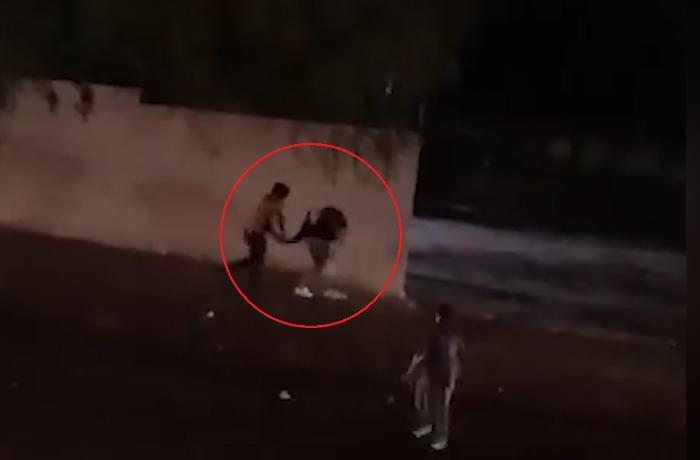 Bakıda küçədə gənc qıza hücum edənlər saxlanıldı – REAL VİDEO