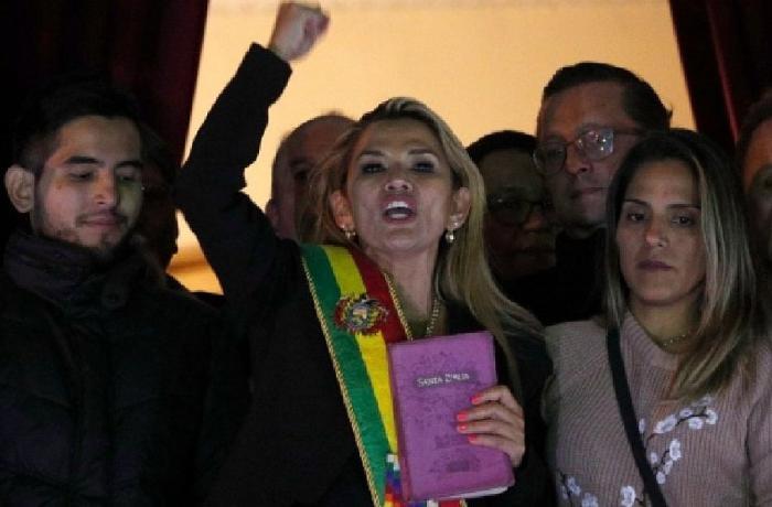 Boliviyanın müvəqqəti prezidenti müəyyən olub