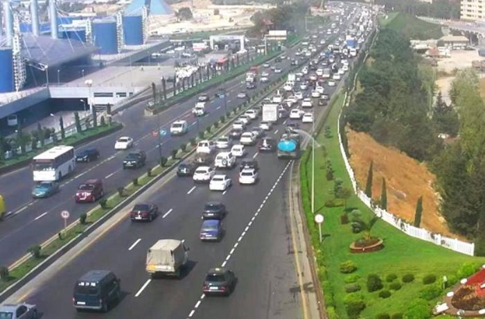 Bakı-Sumqayıt yolunda sürücülərin gözlədiyi layihənin icrasına başlanıldı - VİDEO