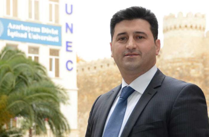 Azərbaycan Dövlət İqtisad Universitetində kadr təyinatı olub