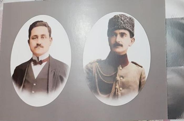 Rəsulzadə və Nuru Paşanın birgə rəsmi olan avro çap olundu - FOTOLAR