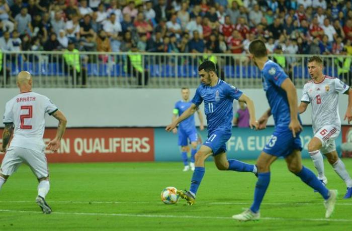 Azərbaycan yığması son oyunda da uduzdu