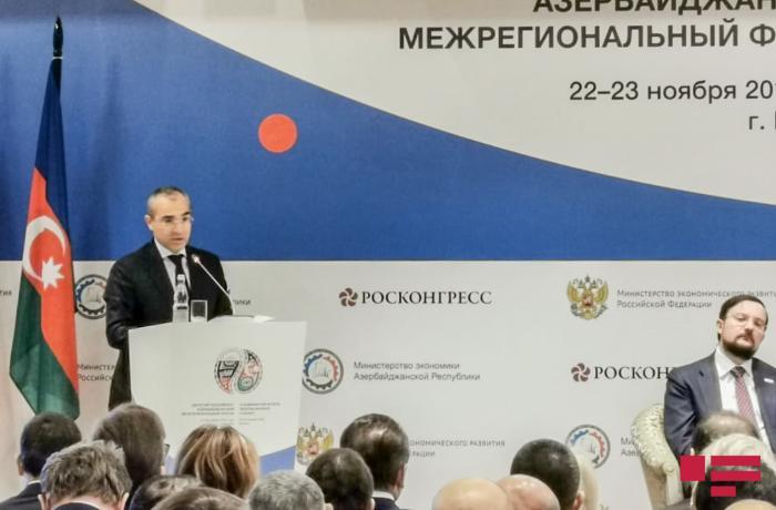 """Mikayıl Cabbarov: """"Rusiya Azərbaycan iqtisadiyyatına 5 mlrd. dollar investisiya yatırıb"""""""