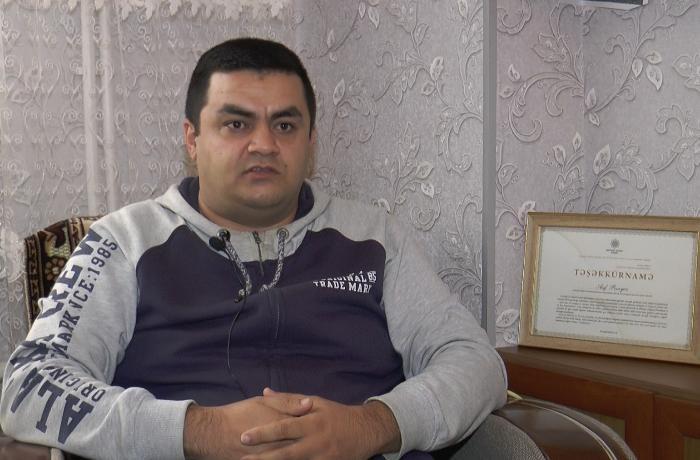 Kirayədə yaşayan Qarabağ qazisi kömək gözləyir - VİDEO