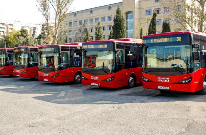 Bakıda xəttə yeni avtobuslar buraxılır – RƏSMİ