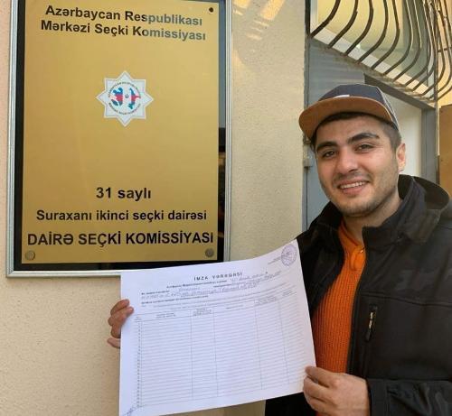 Mehman Hüseynovun müraciəti qismən təmin edildi