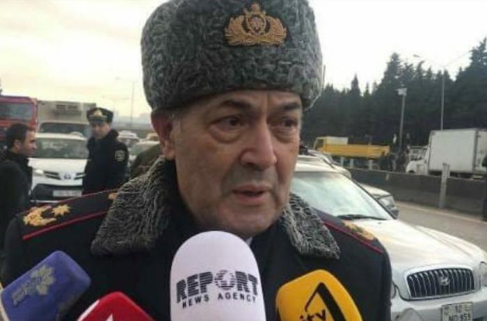 Ramiz Zeynalov da yanğın baş verən əraziyə gedib