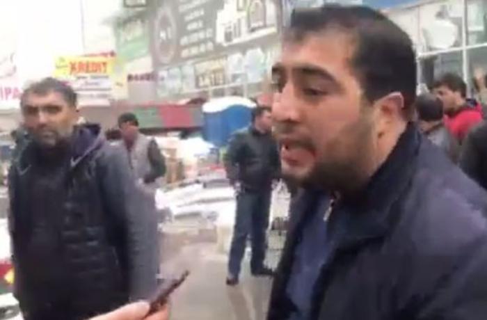 """""""EuroHome""""da malları yanan sahibkar: Bazarın yarısının sığortası yoxdur"""