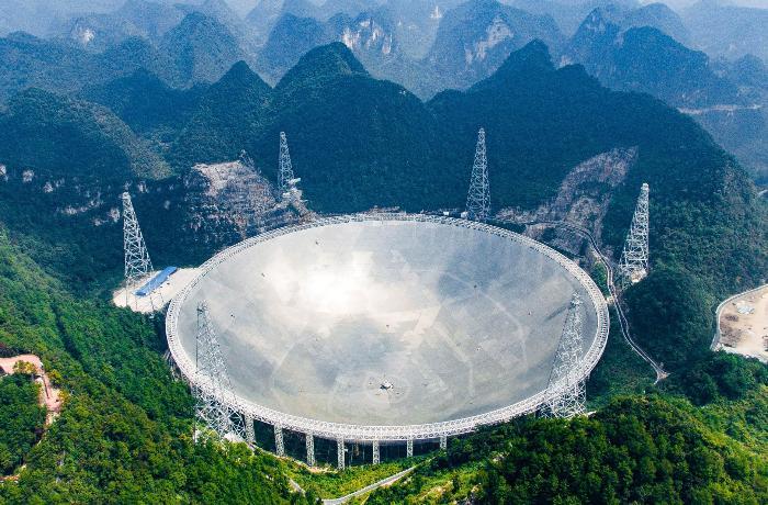 Çin nəhəng radio teleskop ilə yerdən kənar həyatın axtarışlarına başlayıb