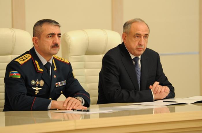 Prezidentin yeni köməkçisi Elçin Quliyevlə birgə müşavirədə - FOTOLAR