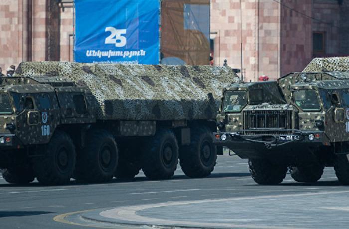 Ermənistan son iki ildə hərbi arsenalını intensiv şəkildə artırıb