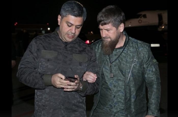 """Çeçenistan prezidentinin """"qardaş"""" dediyi şəxs kimdir? - Kadırovdan ŞOK PAYLAŞIM - FOTO"""
