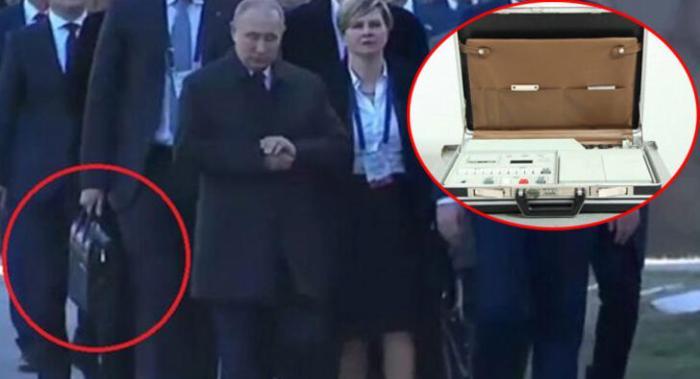 Putinin yanından ayırmadığı çantasının sirri açıldı - İstədiyi vaxt nüvə... - FOTO/VİDEO