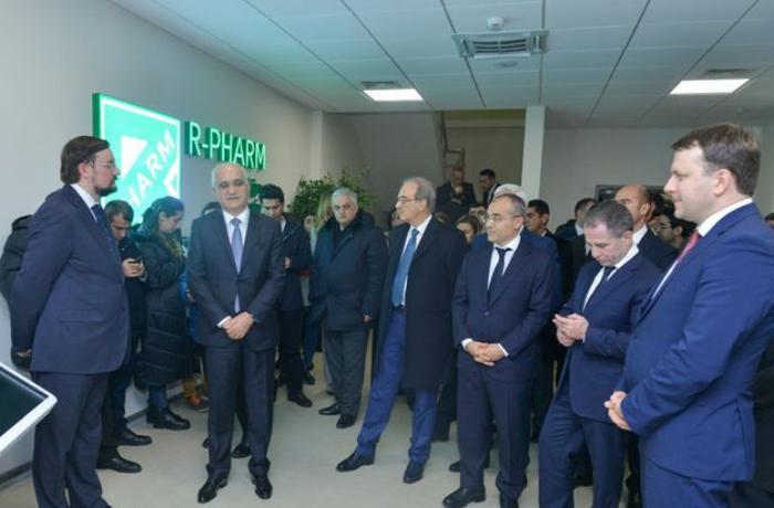 Azərbaycanda dərman istehsalı müəssisəsi açıldı - Rusiya ilə ortaq