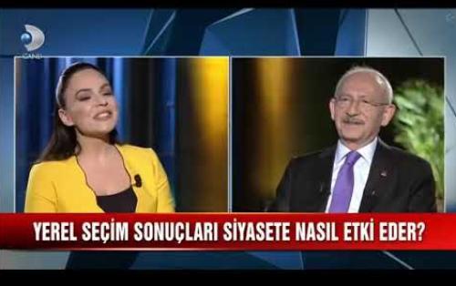 Canlı yayında Kemal Kılıçtaroğluyla alay eden Buket Aydın Kanal D'den kovuldu