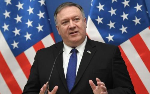 """Pompeo: """"Belarusa qarşı sanksiyaların tətbiqi məsələsinə baxılacaq"""""""