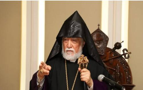 Католикос армян призвал объединить Карабах и Армению